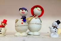 Vintage Snowmen