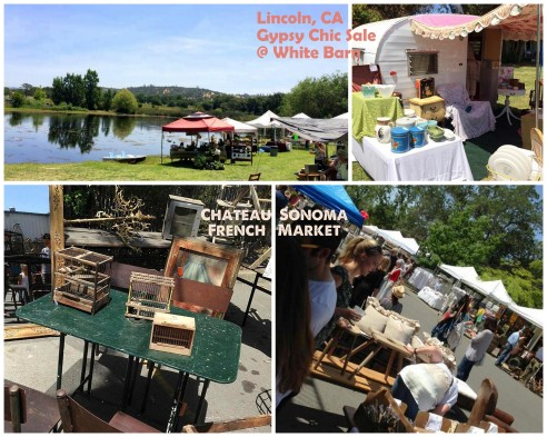 Napa Vintage Market May 2014 Collage 4