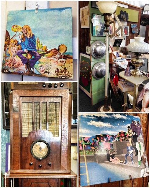 Napa Vintage Market May 2014 Collage 5